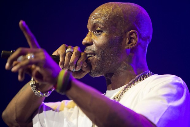 DMX headlines at the 2014 Masters of Ceremony concert held at Radio City Music Hall Featuring: DMX,Earl Simmons Where: New York, New York, United States When: 24 Jan 2014 Credit: WENN.com