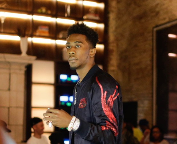 G.O.O.D Music signee Desiigner hosts an intimate listening session for his debut mixtape 'New English' Featuring: Desiigner Where: New York, New York, United States When: 23 Jun 2016 Credit: WENN.com